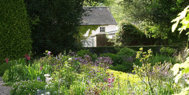 View from Lydia's Garden to The Cottages - Ballymaloe Cookery School