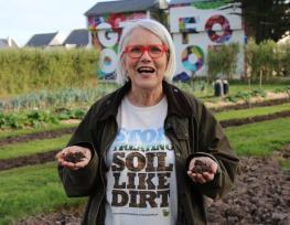 Darina Allen launches Save Our Soil campaign