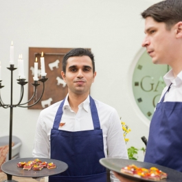 12 Week Student Volunteers LitFest '15 - Ballymaloe Cookery School