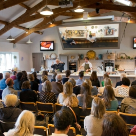 Cookery Demo LitFest '15 - Ballymaloe Cookery School