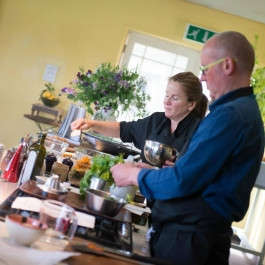 Avoca Cookery Demo LitFest '15 - Ballymaloe Cookery School
