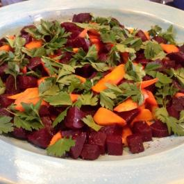 Beetroot & Carrot Salad - Simply Delicious Food Fast - Ballymaloe Cookery School