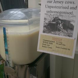 Raw Milk for Sale, The Farm Shop - Ballymaloe Cookery School
