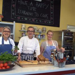 Darina, Rory & Rachel - Ballymaloe Cookery School