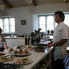 Peter Gordon at Ballymaloe Cookery School