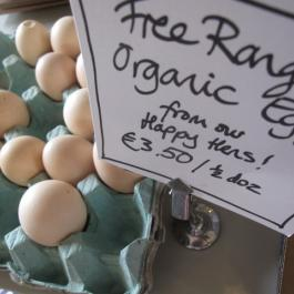 Free-range Organic Eggs, The Farm Shop - Ballymaloe Cookery School