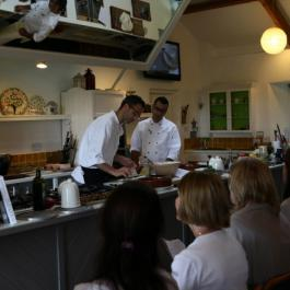 Yotam Ottolenghi and Sami Tamimi at Ballymaloe Cookery School