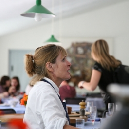 Skye Gyngell at Ballymaloe Cookery School