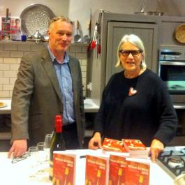John Wilson and Darina Allen - Ballymaloe Cookery School