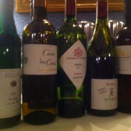 John Wilson Wine Dinner Line-Up