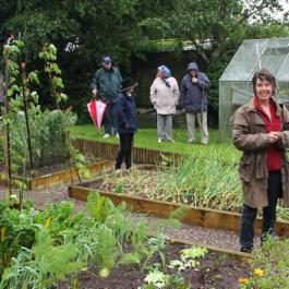 Garden Tour with Susan Turner - Ballymaloe Cookery School