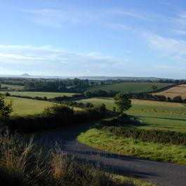 View of 100-Acre Organic Farm - Ballymaloe Cookery School