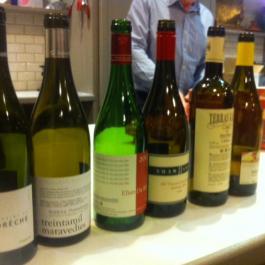 Wine Tasting Line Up - John Wilson - Ballymaloe Cookery School
