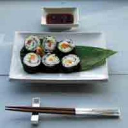 Making sushi at Ballymaloe Cookery School